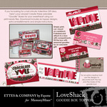 Love Shack Goodie Box Printables-$2.49 (Ettes and Company by Fayette)