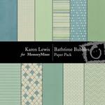 Bathtime Bubbles Paper Pack-$3.99 (Karen Lewis)