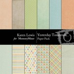 Yesterday Tomorrow Paper Pack-$3.99 (Karen Lewis)