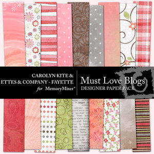 Must love blogs designer pp medium