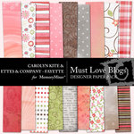 Must Love Blogs Designer Paper Pack-$3.99 (Ettes and Company by Fayette)