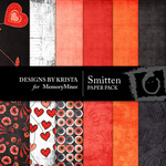 Smitten Paper Pack-$3.99 (Designs by Krista)