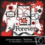 Smitten Embellishment Pack-$2.49 (Designs by Krista)