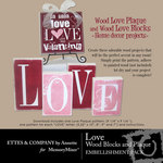 Love Wood Project Printables-$1.50 (Ettes and Company by Annette)
