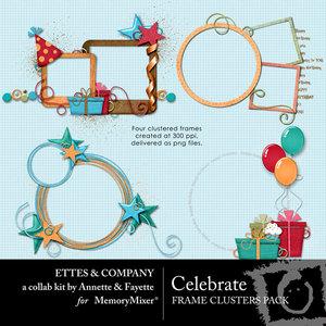 Celebrate frame cluster ettes medium