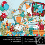 Celebrate Embellishment Pack Ettes-$3.50 (Ettes and Company by Fayette)