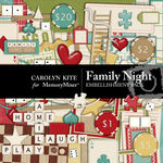 Family Night Embellishment Pack-$1.80 (Carolyn Kite)
