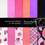 Serendipity DK Paper Pack-$3.49 (Designs by Krista)