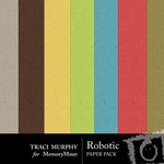 Robotic Solid Paper Pack-$2.49 (Traci Murphy)