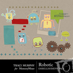 Robotic Embellishment Pack-$2.99 (Traci Murphy)