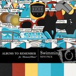Swimming Mini Pack-$3.99 (Albums to Remember)
