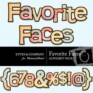 Favorite faces alpha medium