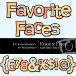 Favorite Faces Alphabet Pack-$0.99 (Ettes and Company by Fayette)
