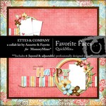 Favorite Faces QuickMix-$4.99 (Ettes and Company by Fayette)