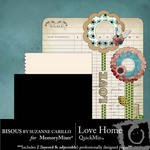Love Home QuickMix-$3.00 (Bisous By Suzanne Carillo)