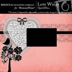 Love Wings QuickMix-$1.99 (Bisous By Suzanne Carillo)