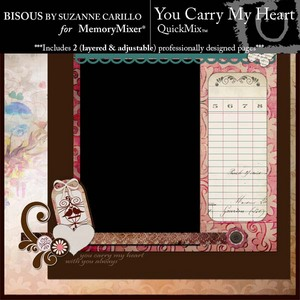 You carry my heart copy medium