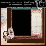 You Carry My Heart QuickMix-$1.99 (Bisous By Suzanne Carillo)