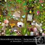Swing into Spring 1 Embellishment Pack 1-$3.49 (MagicalReality Designs)