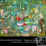 Swing into Spring 1 Embellishment Pack 2-$3.50 (MagicalReality Designs)