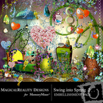 Swing into Spring 2 Embellishment Pack-$3.50 (MagicalReality Designs)