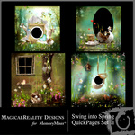 Swing into Spring QuickPage  QuickMix 1-$2.99 (MagicalReality Designs)