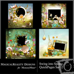 Swing into Spring QuickPage  QuickMix 2-$2.99 (MagicalReality Designs)