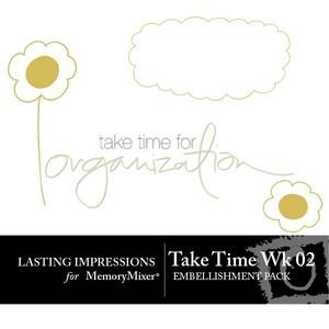 Take time wk 02 emb medium