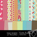 Love LuLu Paper Pack-$3.99 (Traci Murphy)