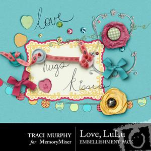 Love lulu emb medium