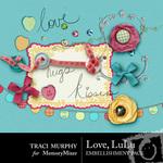 Love LuLu Embellishment Pack-$2.49 (Traci Murphy)