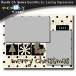 Rustic Christmas QuickMix Kit-$5.00 (Lasting Impressions)