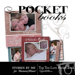 Top ten love pocket book medium