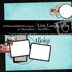 Live Laugh Love QuickMix-$4.99 (Ettes and Company by Annette)
