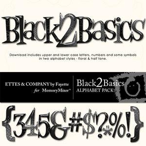 Black 2 basics alpha medium