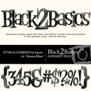 Black 2 basics alpha medium