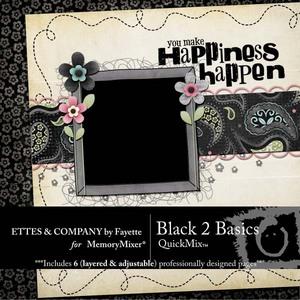Black 2 basics medium