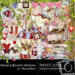 Sweet Love  MR Embellishment Pack-$3.49 (MagicalReality Designs)