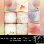 Sweet Love MR Paper Pack-$3.99 (MagicalReality Designs)