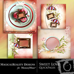 Sweet Love Quick Page QuickMix-$3.99 (MagicalReality Designs)