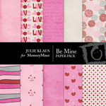 Be Mine JK 2 Paper Pack-$3.99 (Julie Klaus)