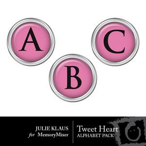 Tweet heart alpha medium