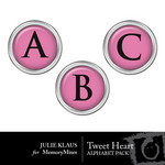 Tweet Heart Alphabet Pack-$0.99 (Julie Klaus)