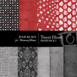 Tweet Heart Paper Pack-$3.99 (Julie Klaus)