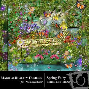 Spring fairy emb medium