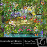 Spring Fairy Embellishment Pack-$3.49 (MagicalReality Designs)