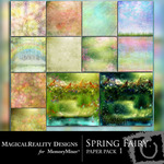 Spring Fairy Paper Pack 1-$3.99 (MagicalReality Designs)