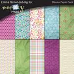 Blooms Paper Pack-$3.99 (Emma Schonenberg)