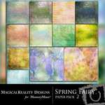 Spring Fairy Paper Pack 2-$3.99 (MagicalReality Designs)