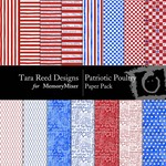 Patriotic Poultry Paper Pack-$1.99 (Tara Reed Designs)